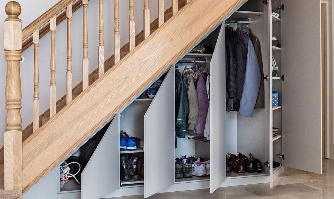 under-stairs storage solutions